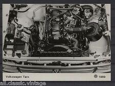 PRESS - FOTO/PHOTO/PICTURE - Volkswagen Taro Engine 1989