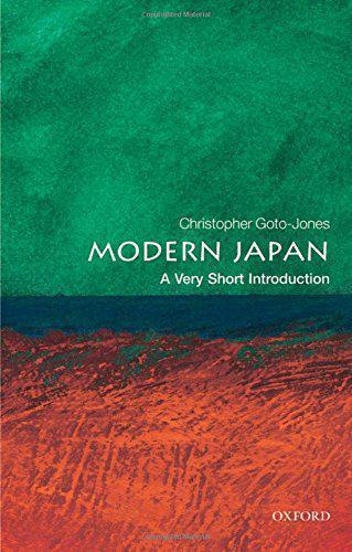 Moderno Japan: a Very Corto Introducción (Muy Introductions) Por Christophe