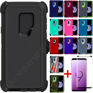 For-Samsung-Galaxy-S9-S9-Plus-Defender-Case-Cover-w-Screen-amp-Clip-fits-Otterbox