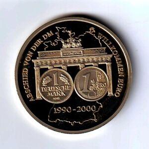 Médaille commémorative Allemande année 2000 - FDC