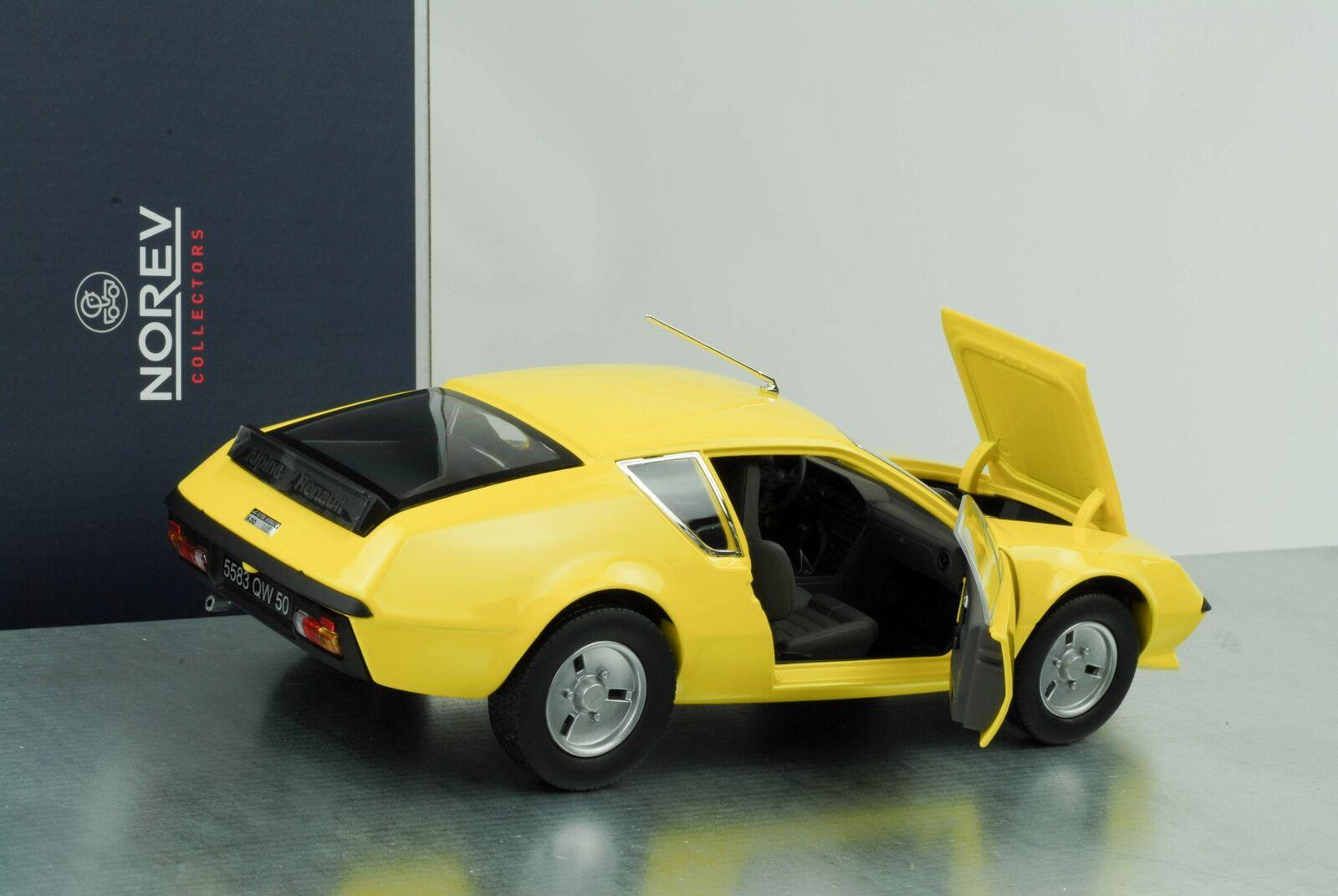 1977 Renault Alpine a310 giallo 1 18 norev 185147