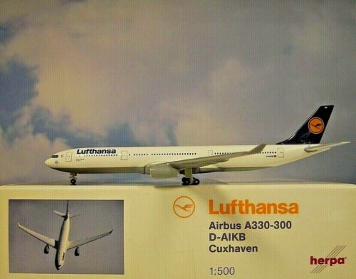 Herpa Wings 1:500  Airbus A330-300  Lufthansa D-AIKB  514965  Modellairport500