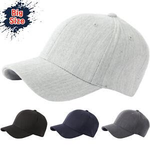 2bafc43c2 Details about G57 XL XXL Men Spandex Empty Plus Size Flex Big Ball Cap  Baseball Hat Truckers