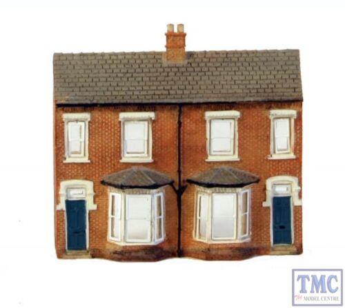 42-202 Scenecraft N Gauge Low Relief Front Terraced Houses