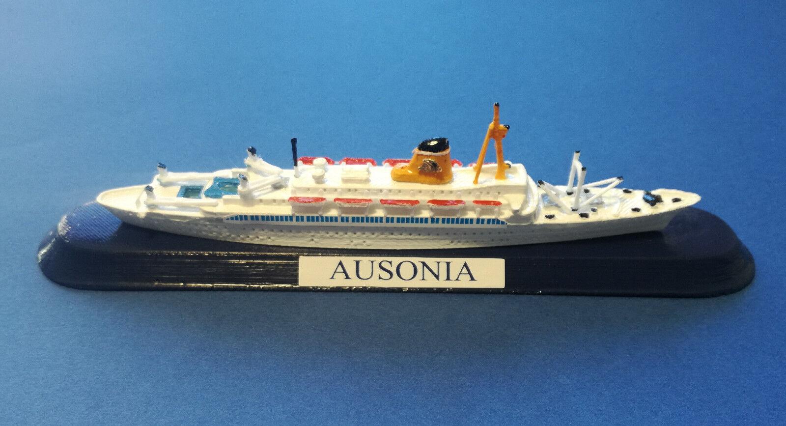 Envío 100% gratuito T n  AUSONIA AUSONIA AUSONIA  Adriatica di Navigazione Venezia modello navale  model ship 1 1250  de moda