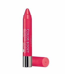 BOURJOIS-Color-Boost-01-RED-SUNSHINE-Lip-Crayon-spf-15-Glossy-Lipstick-Finish