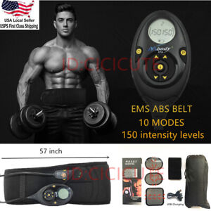 Pro-EMS-Abdominal-Muscle-Training-Gear-Toner-Core-Toning-ABS-Fit-Workout-Belt