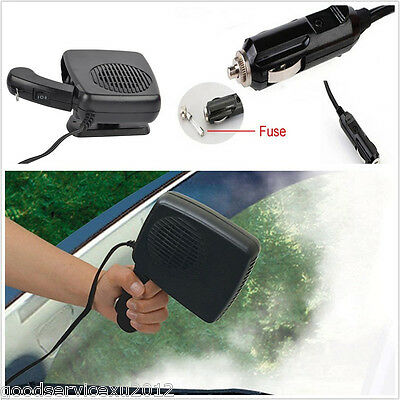 150W Autos Cigarette Lighter Plug Heating Cooling Heater Fan Defroster Demister