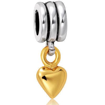 Fashion European charm bead Fit For UK sterling silver Bracelet Bangle Necklace