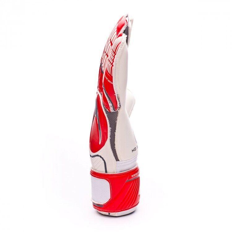 Ho Ho Ho Soccer Guanti Portiere - SSG Ghotta Roll Flat Protek - Bianco rot grau 76e305