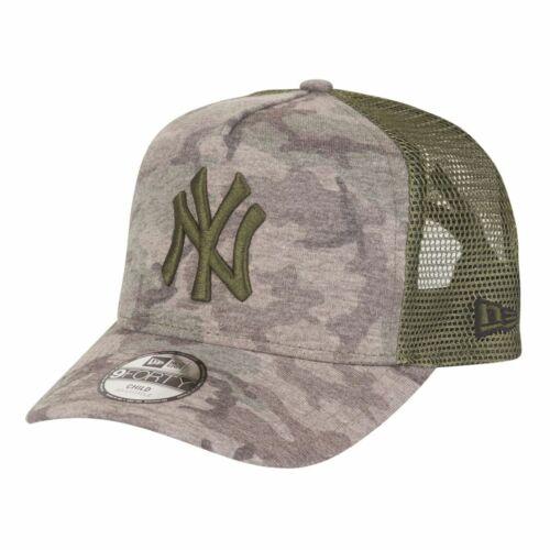 New Era 9Forty Trucker Kids Cap New York Yankees wood camo