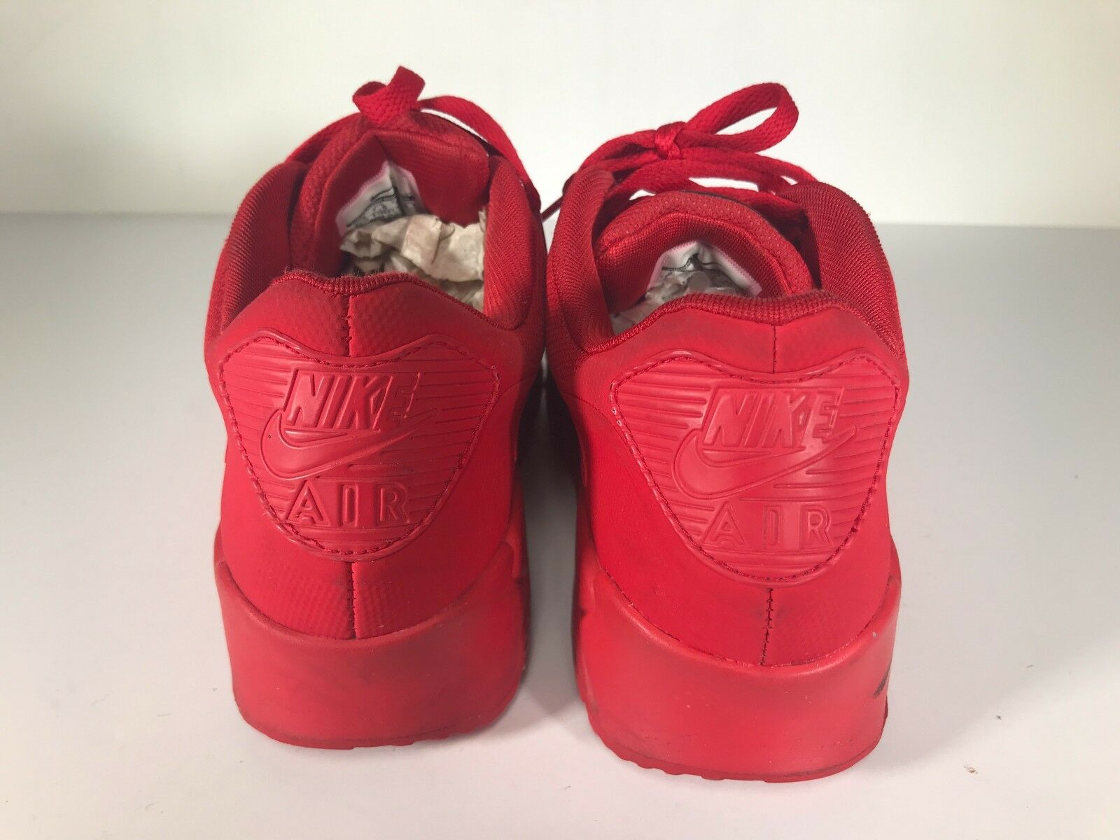 premium selection fe384 a962c ... Pre-Owned Nike Air Max 90 Red Independence Day Day Day Sneakers Size 8  0891d5 ...