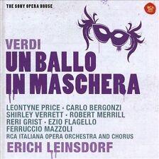 Giuseppe Verdi: Un Ballo in Maschera CD NEW