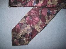Mens Multi-Color Floral Print Tie Necktie Haggar~ FREE US SHIP (5976)