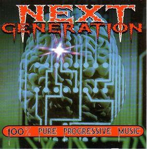 """Next Generation: 100% Pure Progressive Music"" 1996 CD Discomagic Records #1204 - Italia - ""Next Generation: 100% Pure Progressive Music"" 1996 CD Discomagic Records #1204 - Italia"