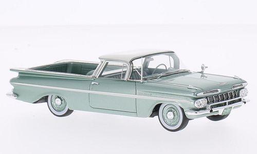 Chevrolet El Camino 1959 métallique vert clair 1959 1 43 Neo 44851