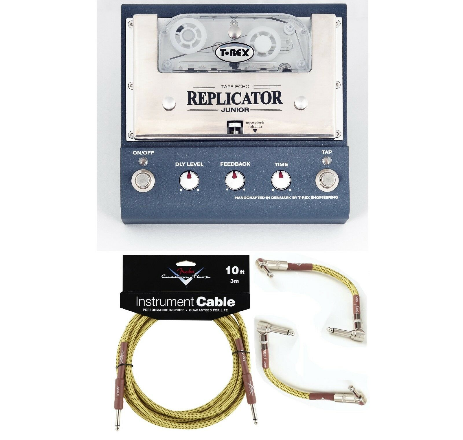 New T-Rex Replicator Junior Tape Echo Guitar Effects Pedal