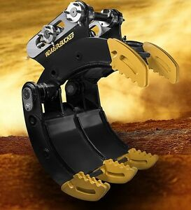 Excavator Grab, Rock 1.7 3 4,5,6,7, 8T on Adjustable Rippers, Buckets