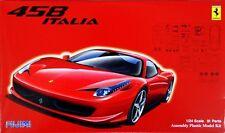 Fujimi RS-81 Ferrari 458 1/24 Scale Kit