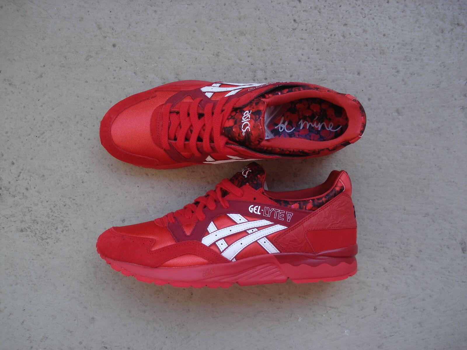 Women's Asics Gel Lyte 5/V 44 Valentine's Day Red/White Cheap women's shoes women's shoes