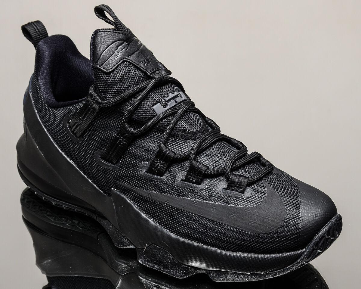 c1f5d7c7e9ba6 Nike Lebron XIII Low 13 men men men basketball shoes NEW blackout black  831925-001