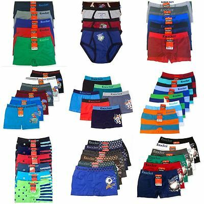 BOYS BOXER BRIEFS UNDERWEAR TRANSFORMERS SEAMLESS 12 PAIRS DIFFERENT SIZES