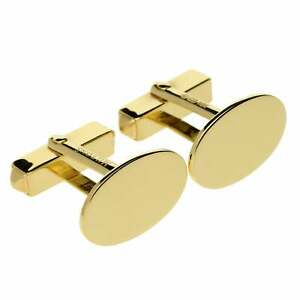 18ct-Gold-Miltons-Diamonds-Oval-Cufflinks