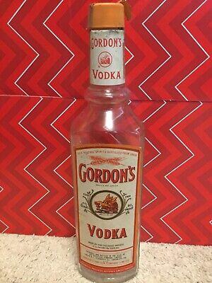 Vintage Gordon S Vodka Bottle Empty Ebay