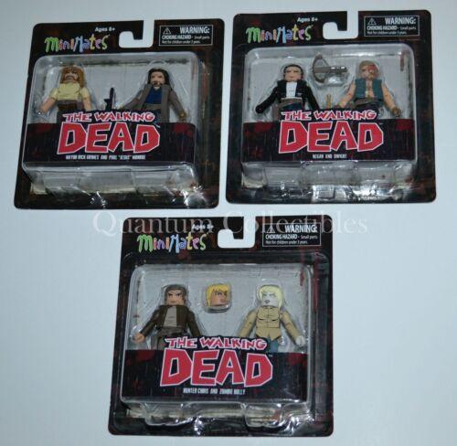 Negan Jesus Dwight Rick The Walking Dead Minimates Series 7 3 2Packs:6 Figures