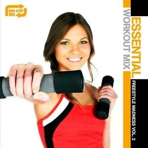 Various-Artists-Essential-Workout-Mix-Freestyle-Madness-2-Various-New-CD