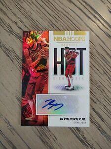 2019-20 Kevin Porter Jr. NBA Hoops Rookies Hot Signatures RC AUTO!!! HOT HOT HOT