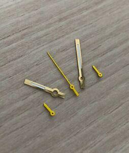 Chronographen-Zeigersatz-Retro-Gold-Gelb-fuer-ETA-Valjoux-7733-NOS-Style