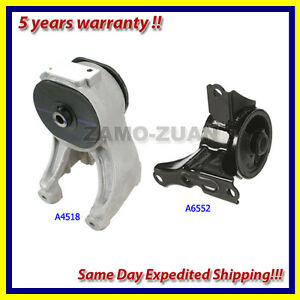 99 04 honda odyssey 3 5l rear right engine motor mount set 2pcs a4518 a6552 ebay Honda odyssey rear motor mount