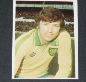 #204 PETERS NORWICH CITY CANARIES DAILY STAR FOOTBALL ENGLAND 1980-1981 PANINI YM0ZN4il-09101742-933212562