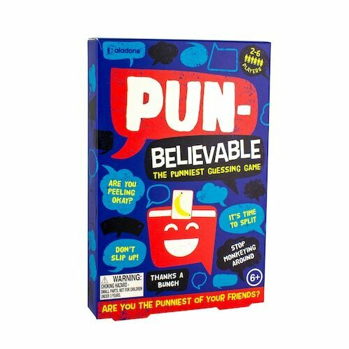 punniest guessing game Pun Believable guessing game Paladone gifts New