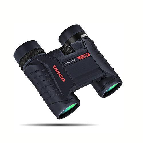 NEW  Tasco Waterproof Off Shore 10x25mm Waterproof Tasco Compact Binoculars, Blau 200125 670efc