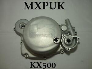 KX500 1993 CLUTCH COVER GENUINE KAWASAKI PART 14032-1245 93 KX 500 MXPUK (497)