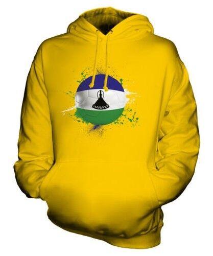 Lesotho Calcio Felpa Unisex Maglia Idea Regalo Coppa Del Mondo Sport