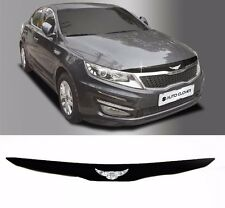 Acrylic Emblem Hood Guard Protector Cover 1pcs For KIA Optima 2011 2015