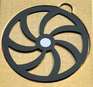 CD stabilizer Mat Carbon Fiber HiFi Audiophile Disc Tune Clamp Top Tray Player