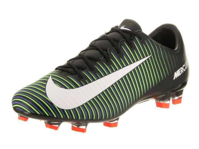 new product 38b5f 43142 NIKE MERCURIAL VELOCE III FG Soccer MENS Black 847756 013  110 NEW