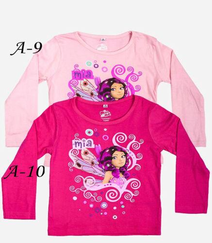 Girls Long Sleeves T.Shirt Top,3 4 6 8 YRS My little Pony,Hello Kitty,Mia,Sofia