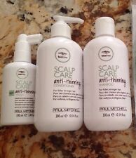 Paul Mitchell Scalp Care Anti-Thinning System Set Shampoo&conditioner And Tonik