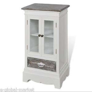 Image Is Loading White Cabinet Doors Drawer Display Gl Cupboard Storage
