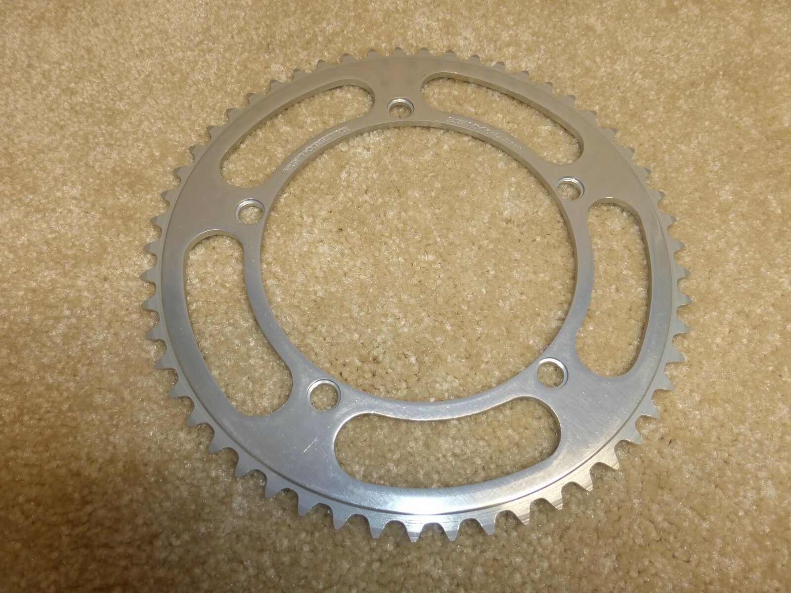 Rare - Vintage -  Sugino Mighty Competition 54 t. Chainring -  NOS  - 144 BCD  retail stores