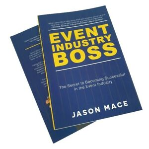 Be Your Own Boss In The Event Industry Entrepreneur Business Start Up Book Ebay