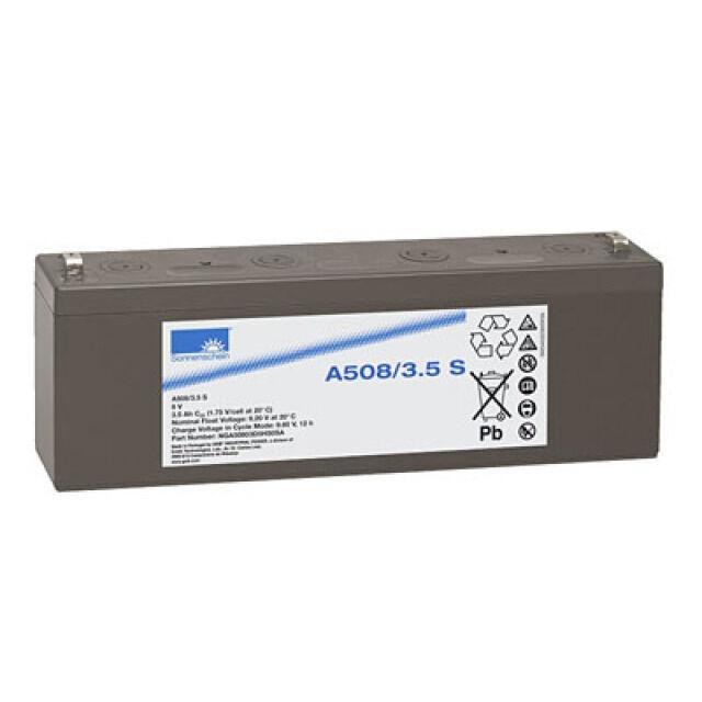 Exide  Dryfit A508/3.5S 8V 3,5Ah Faston 4,8mm