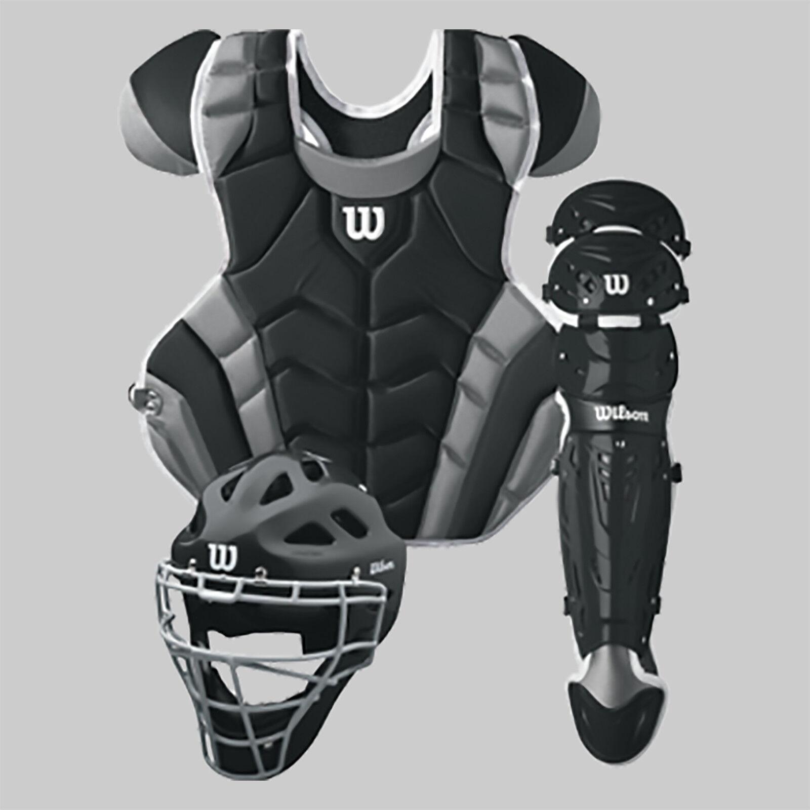 Wilson C1K Intermediate Catcher's Gear Kit - Various colors (NEW) Lists @