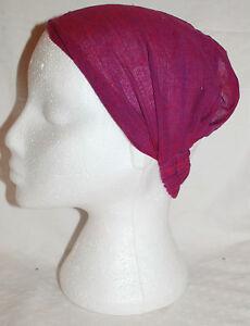Nepal Fairly Traded Ethnic Ethical Boho Bandana New Tie Dye Hair Band Wrap