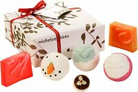 Bomb Cosmetics Christmas Gift Sets Luxury Pre Wrapped Bath Hamper Handmade